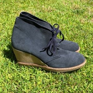 JCrew McAllister Wedge Ankle Boots